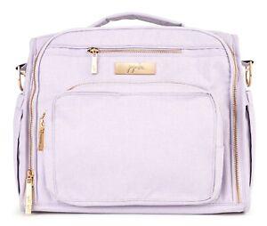 Ju Ju Be Chromatics 4.0 BFF Baby Diaper Bag Backpack w/ Changing Pad Lilac NEW