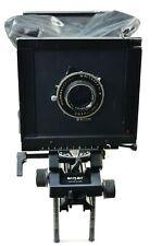 Sinar F1 4x5 camera w bag bellow, 210mm Astragon f6.3 + Polaroid holder warranty