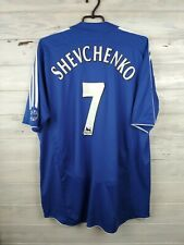 Shevchenko Chelsea jersey XL 2006 2008 home shirt soccer football Adidas