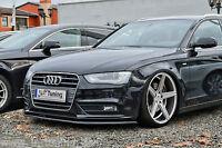 Noak ABS Cup Spoilerschwert Frontspoiler Lippe für Audi A4 B8 Facelift mit ABE