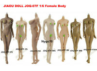 "JIAOU DOLL 1/6 Female Body Model Flexible Figure Big Bust Toy 12"" Action JOQ-07F"
