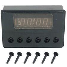 6 Button Clock Timer for RANGEMASTER 55 110 Classic 90 110 Range Oven Cooker