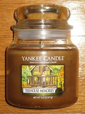 Yankee Candle - TREEHOUSE MEMORIES - 14.5 oz - RARE AND HARD TO FIND SCENT!!