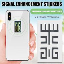 1/10 x Handy Signal Verbesserung  Enhancement Antenne Booster Aufkleber