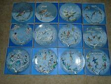 Complete Set 12 Haviland Limoge 12 Days Of Christmas Plates