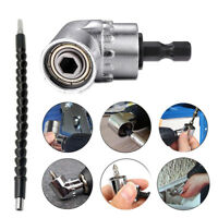 Right Angle Drill and Flexible Angle Extension Bit Kit for Drill &Screw 1/4inch