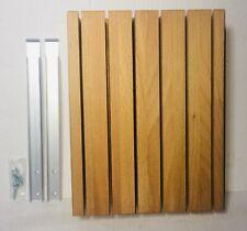 IKEA Knife Block SATS Knife Holder Solid Wood Light Finish New