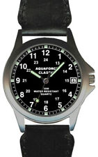 Aqua Force Black Face Classic Watch (30m water resistant)