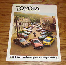 Original 1975 Toyota Car & Truck Full Line Sales Brochure 75 Celica Land Cruiser