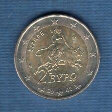 Grèce 2002 2 euro Lettre S SUP SPL TRES RARE Provenant d'un rouleau Greece