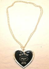 NFL New York Jets Charming Heart Necklace New