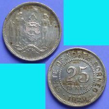 British North Borneo 25 Cents 1929 H km 6