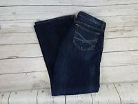 Aeropostale Blue Wash Hailey Skinny Flare Leg Women Jeans Size 11/12 Regular