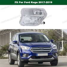 1Pcs Clear Lens Right Fog Light Driving Lamp for Ford Escape Kuga 2017-2019