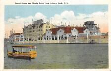 Ocean Grove & Wesley Lake from Asbury Park, New Jersey 1920 Vintage Postcard