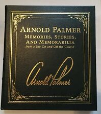 Arnold Palmer - Memories Memorabilia - EASTON PRESS Signed  FIRST Edition Sealed