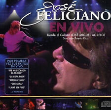 JOSE FELICIANO * En Vivo * New Factory Sealed CD * Original 2009 Recording