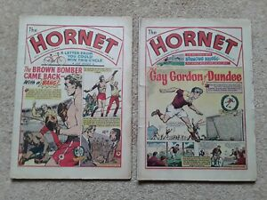 The Hornet Comics No 5 & No 6 - 2 rare vintage comics from October 1963