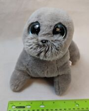 """Ty Classic WIGGY the Gray Seal Medium Buddy 9"""" Size NO TAG"""