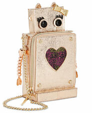 Betsey Johnson KITSCH LOVE MACHINE Robot Crossbody bag ROBOT future outer space
