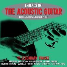 LEGENDS OF THE ACOUSTIC GUITAR - 75 LEGENDARY TRACKS (NEW SEALED 3CD)