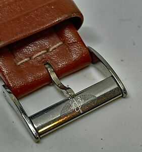 BREITLING - Genuine Leather Strap 22mm Authentic Buckle - Pre-Owned