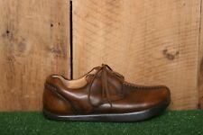 KALSO EARTH SHOE 'Breeze' Brown Leather Split Toe Oxfords Women's Sz. 6