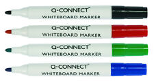 10 WHITE BOARD DRYWIPE MARKER PENS INSTANT DRY GREEN TEACHER MARKER KF26009