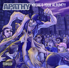 APATHY Where's Your Album?!! CD DEMIGODZ FORT MINOR ARMY OF THE PHARAOHS