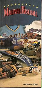 1986 Seattle Mariners Media Guide