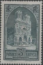 """FRANCE STAMP TIMBRE N° 259 """" CATHEDRALE REIMS 3F TYPE I """" NEUF xx TTB  H260"""