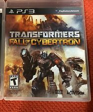 Transformers: Fall of Cybertron (PlayStation 3 PS3) Complete