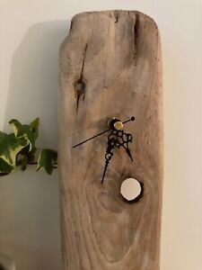 UNIQUE DRIFTWOOD CLOCK, authentic, Handmade, shabby chic , Rustic, Natural