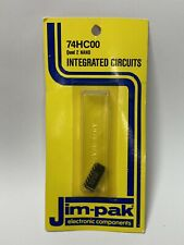 Integrated Circuits-Jim-Pak 74HC00-NEW-Quad 2 NAND-HTF! Electronic Components
