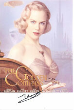 NICOLE KIDMAN Signed 12x8 Photo THE GOLDEN COMPASS & MOULIN ROUGE! COA