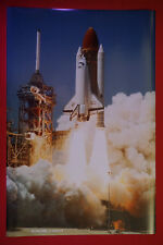 NASA Space Shuttle Challenger Exploration Missions Launch 1986 Poster 24X36 New