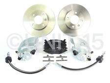 VW Golf GTI MK1 1981-1984 Front Calipers + Brake discs + Pads + Front Hoses Kit