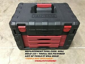 NEW CRAFTSMAN 320 + PC EMPTY REPLACEMENT TOOL CASE ~ *TOOLS NOT INCL.* FAST SHIP