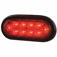 "BUYERS TRUCK STAR PART # 5626510 6-1/2"" RED 10 LED STOP TURN AND TAIL LIGHT"