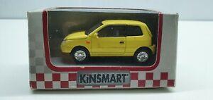 Kinsmart 2001 VW Lupo NIB Retro boxed car Volkswagen die cast metal pull back