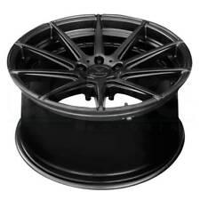 "4-New 22"" Verde V20 Insignia Wheels 22x9 5x114.3 38 Satin Black Rims"