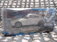 Transformers Alternity Silver Nissan GTR Optimus Prime Binaltech G1 Metal Convoy