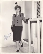 """Frances Gifford"" Vintage 8""x10"" Autographed Photo Black & White Non-Certified"