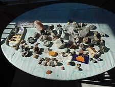 COLLECTION OF ROCKS, MINERALS, FOSSILS, GEMSTONES, QUARTZ, GEODES USA SALE