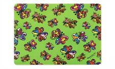 ROMERO BRITTO PLACEMAT: MINIATURE BUTTERFLIES  ** NEW **