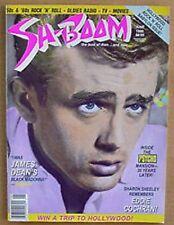 SH BOOM MAGAZINE - JAMES DEAN COVER STORY - JUNE, 1990