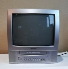 Toshiba Mv13P3 13'' Inch Retro Gaming Tv/Vcr Combo Vhc Player No Remote Tested