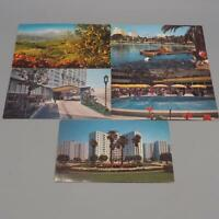 Vintage California Los Angeles Unused Postcard Lot of 5