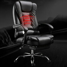 NEW Computer Gaming Office Chair with Footrest Lumbar Massage Function PC Chair