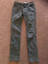 Miss Selfridge Green Denim Skinny Jeans, size 8